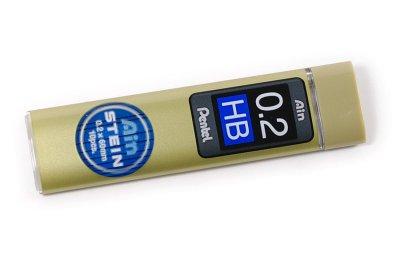 Photo1: Pentel Ain STEIN Pencil Lead 0.2mm HB
