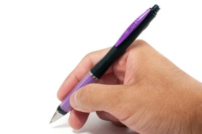 Photo4: Zebra Airfit Light S Ballpoint Pen 0.7mm -Purple Body