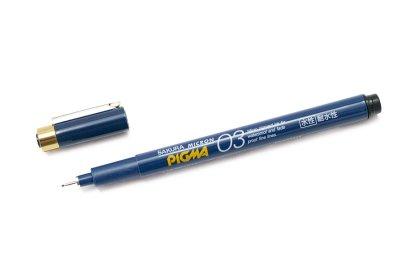 Photo1: Sakura Micron PIGMA Drawing Pen 0.3 mm -Black