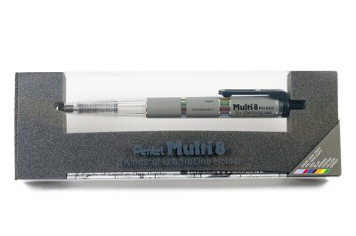 Photo1: Pentel Multi 8 Pencil Lead Holder