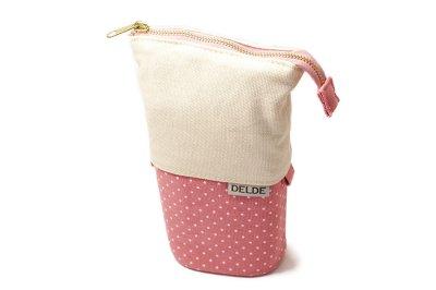Photo1: Sun-Star Delde Slide Pen Case - Girly Pink