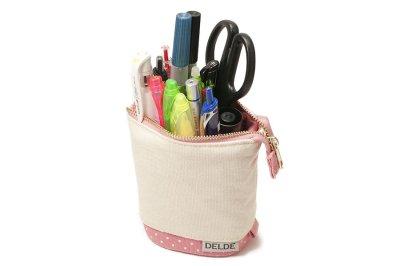 Photo2: Sun-Star Delde Slide Pen Case - Girly Pink