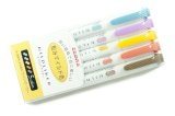 Zebra Mildliner Highlighter -Yellow Pack -WKT7-5C-RC