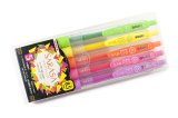 Zebra Sarasa Clip Gel Ink Pen 0.5mm -Neon Colour Set