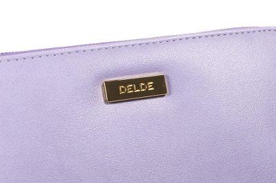 Photo2: Sun-Star Delde Flat Pen Case - Light Violet