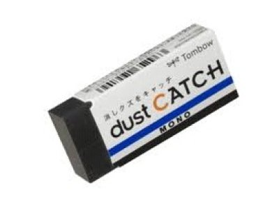 Photo1: Tombow MONO Dust Catch Eraser